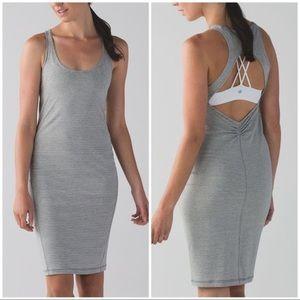 Lululemon Go For It Dress in Hyperstripe Heather